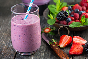 How to make a Power Berry Blast Smoothie