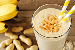 How to make a Peanut Butter Bliss Smoothie